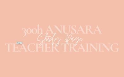 +300H TEACHER TRAINING / Modul 1